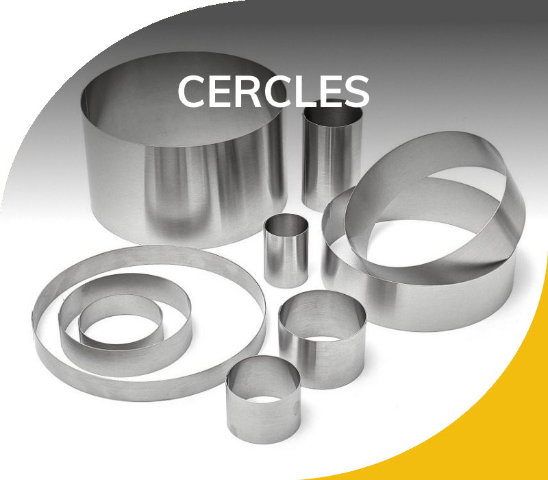 Moules Inox 304 - Cercles