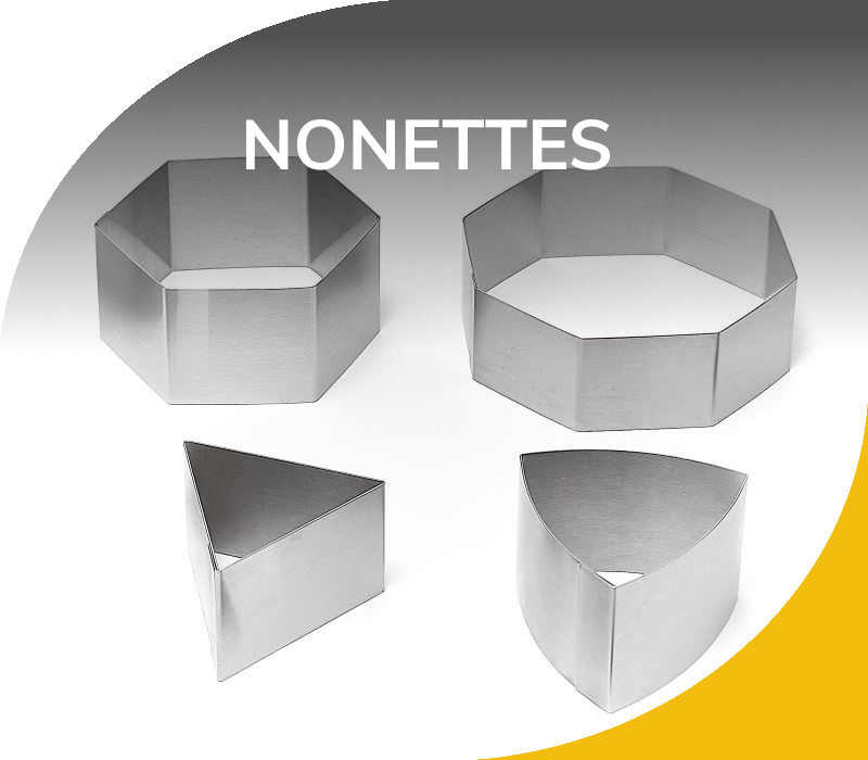 Moules Inox 304 - Nonettes