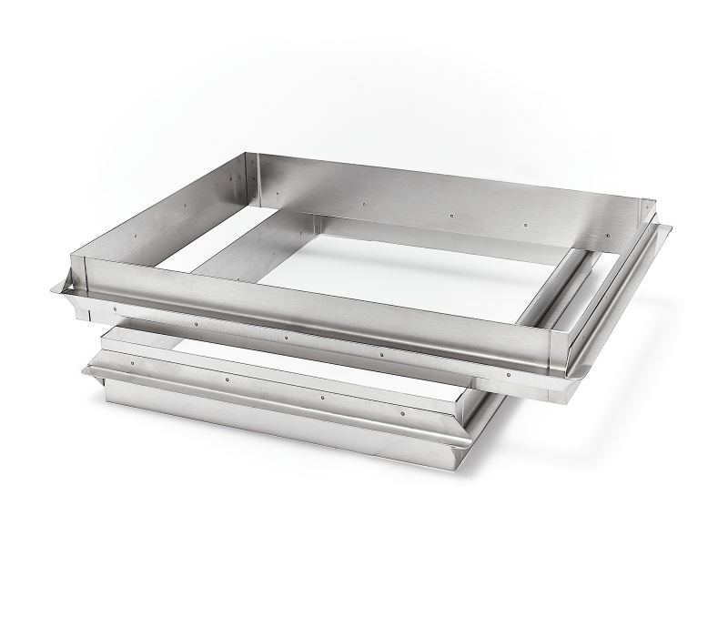Moules Inox 304 cadres rectangulaires