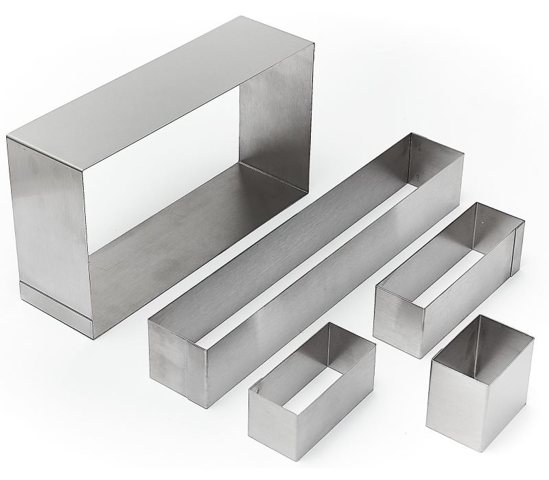 Moules Inox 304 Rectangles